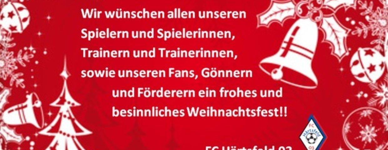 FC Härtsfeld 03 wünscht allen ein frohes Weihnachtsfest!!