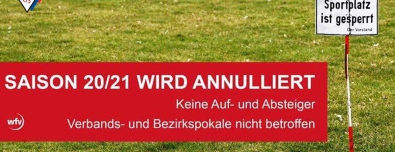 Saison 2020/2021 beendet und annulliert.....